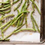 Parmesan Roasted Green Beans - Square Recipe Preview Image