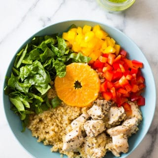 Instant Pot Quinoa Chicken Bowl