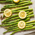 Lemon Roasted Asparagus - Square Recipe Preview Image