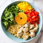 Instant Pot Quinoa Chicken Bowl - Square Recipe Preview Image