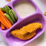 Cheddar Crusted Chicken Strips - Square Recipe Preview Image