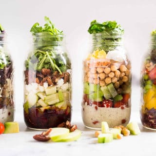 4 Easy Mason Jar Salad Recipes