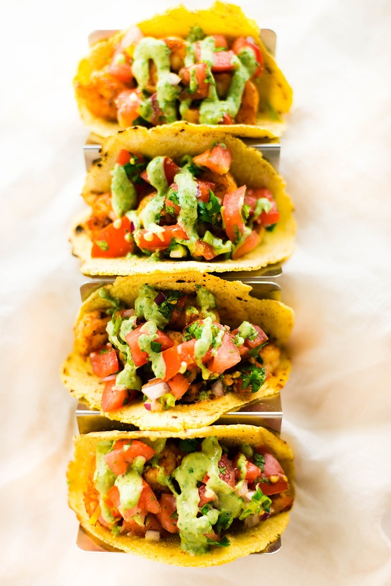 35 Easy Weeknight Dinners - Spicy Shrimp Tacos