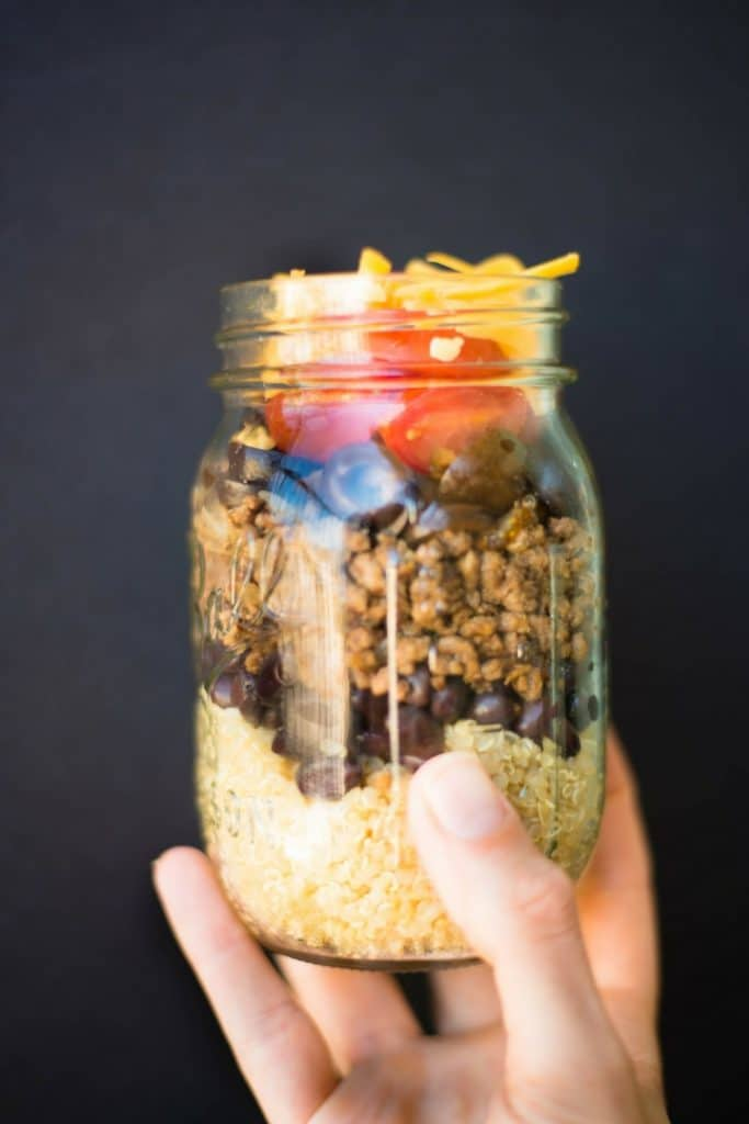 35 Easy Weeknight Dinners - Quinoa Turkey Stacker