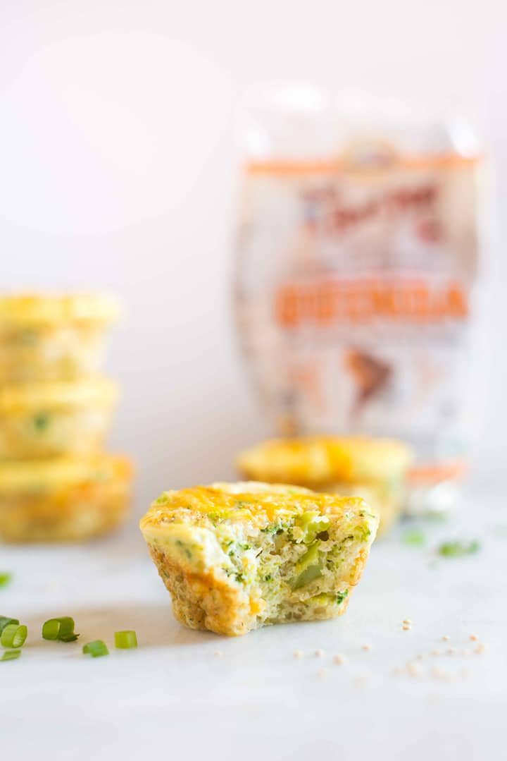Healthy Egg Muffins Cups | These Healthy Egg Muffin Cups are an easy, healthy, and delicious breakfast you can make once and enjoy throughout the week to make your busy mornings easier. These healthy egg muffin cups that are perfect for meal prep. | A Sweet Pea Chef