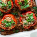 Stuffed Bell Peppers - Square Recipe Preview Image
