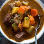 Slow Cooker Beef Stew Square Recipe Preview Image
