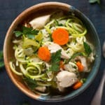Slow Cooker Chicken Noodle Soup Square Recipe Preview Image