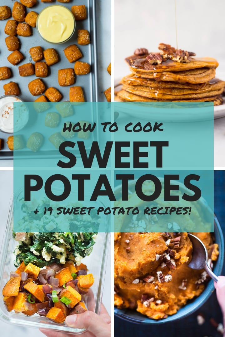 How To Cook Sweet Potatoes   How to make sweet potatoes, from mashed sweet potatoes, sweet potato hash, and sweet potato fries, to sweet potato lasagna and sweet potato nachos, these sweet potato recipes are easy, delicious, and healthy!   A Sweet Pea Chef
