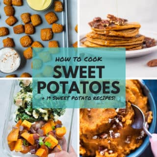 How To Cook Sweet Potatoes | How to make sweet potatoes, from mashed sweet potatoes, sweet potato hash, and sweet potato fries, to sweet potato lasagna and sweet potato nachos, these sweet potato recipes are easy, delicious, and healthy! | A Sweet Pea Chef