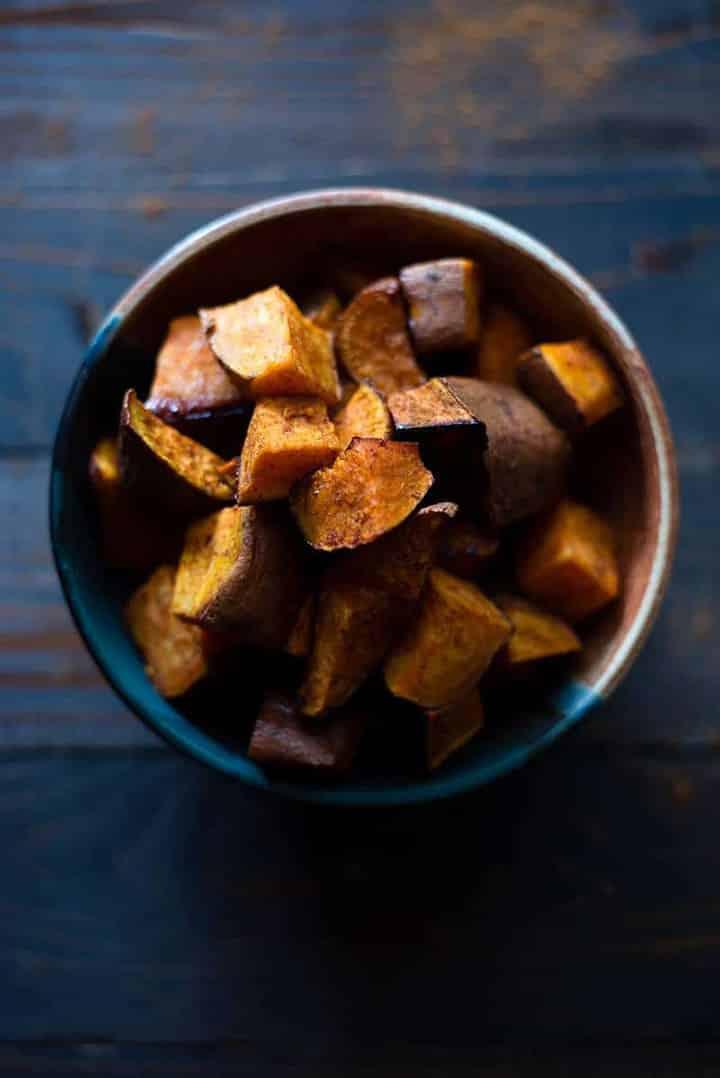 How To Cook Sweet Potatoes - Roasted Sweet Potatoes