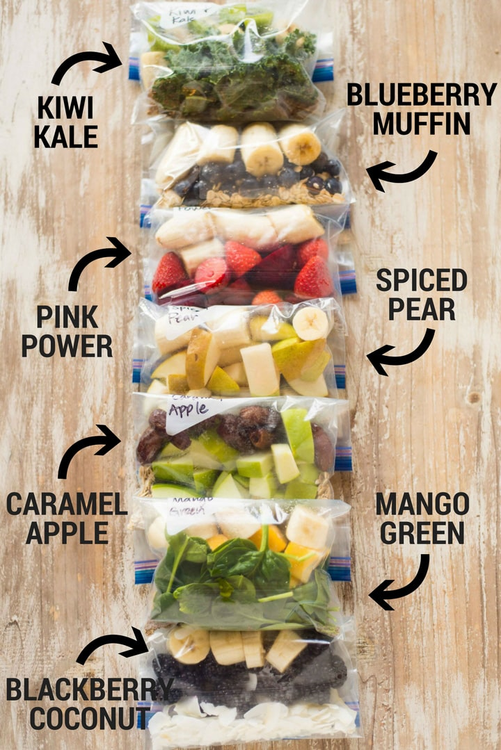14 Smoothie Freezer Packs A Sweet Pea Chef