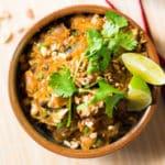 Spaghetti Squash Pad Thai Square Recipe Preview Image