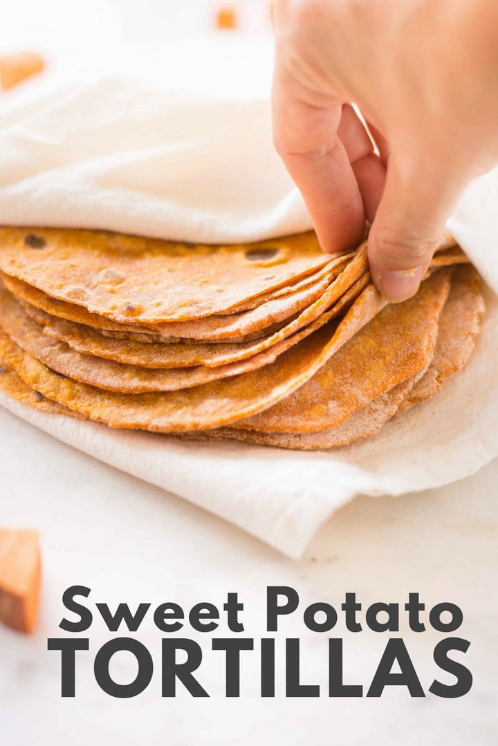 My 20 Favorite Cinco De Mayo Recipes - Sweet Potato Tortillas