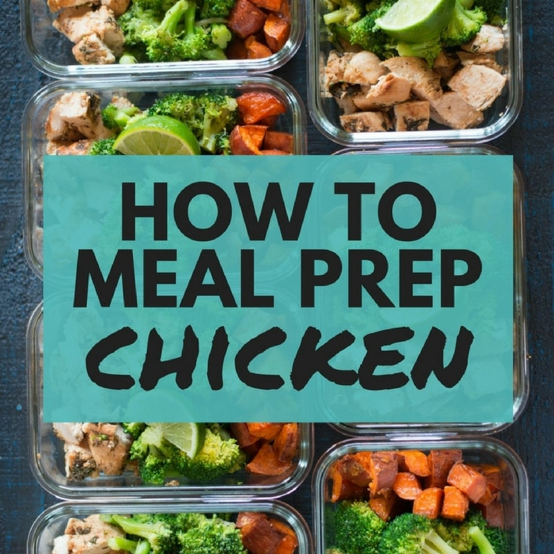 How To Meal Prep Chicken 7 Mealsunder 5 A Sweet Pea Chef
