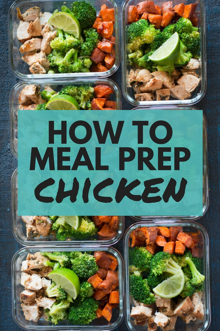 How To Meal Prep Chicken | How to meal prep chicken for the entire week, including an easy chicken breast recipe, all for under $5 per meal! | A Sweet Pea Chef