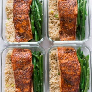 How to Meal Prep – Salmon