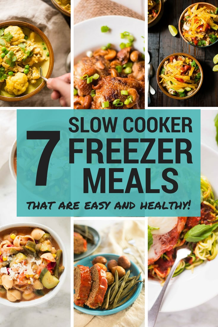 Slow Cooker Freezer Meals | How to make slow cooker freezer meals that are easy and delicious and make meal prep a breeze! | A Sweet Pea Chef