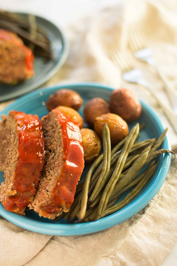 Slow Cooker Freezer Meals - Slow Cooker Meatloaf