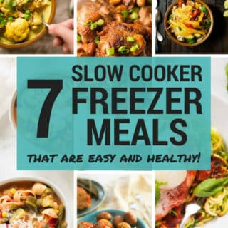 7 Slow Cooker Freezer Meals | How To Meal Prep