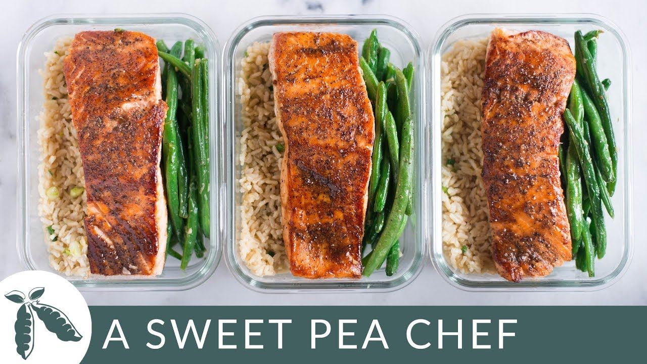 how to meal prep salmon a sweet pea chef