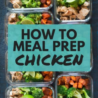 How to Meal Prep Chicken (7 Meals Under 5$)