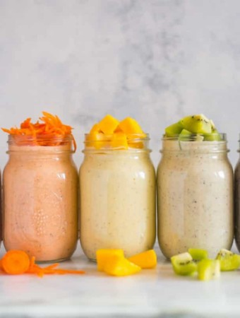Overnight Oats Recipes | Never skip breakfast again with these simple make-ahead 6 Overnight Oats recipes. Enjoy a healthy and yummy breakfast on the go plus learn how to make overnight oats! | A Sweet Pea Chef