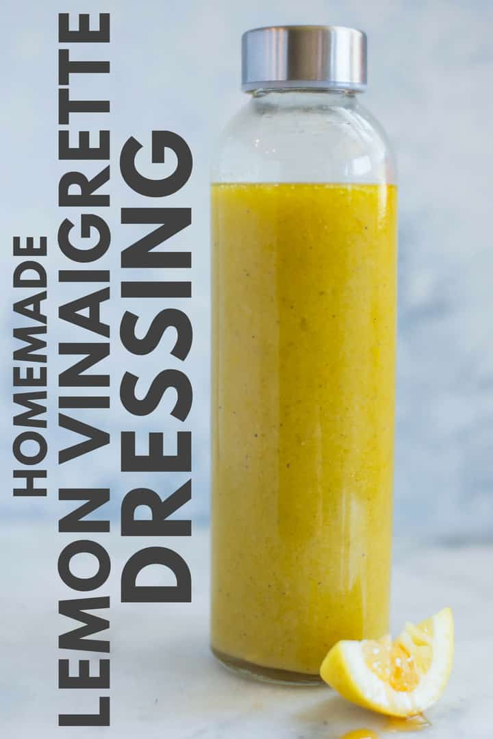 Lemon Vinaigrette – This Lemon Vinaigrette has a combo of lemon and honey and is so vibrant, tart, and sweet all at the same time.  So good!