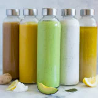 How to Make Homemade Salad Dressing + 5 Healthy Salad Dressing Recipes