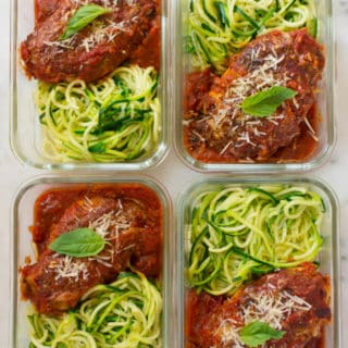 How to Meal Prep – Healthy Chicken Parmesan (Under 350 Calories!)