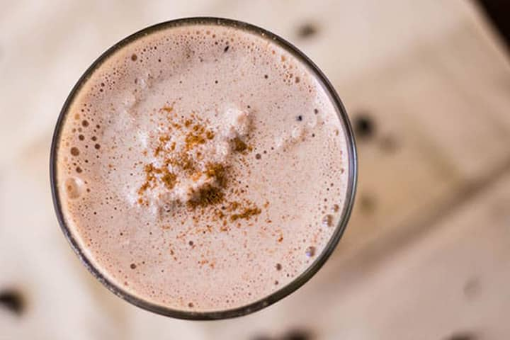 Almond Butter, Chocolate & Coffee Bean Protein Shake