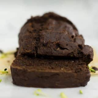 Chocolate Zucchini Bread | This easy chocolate zucchini bread is amazingly simple to make and uses several healthy substitutions. Plus it's so incredibly delicious and a great way to satisfy your chocolate cravings and still live a clean eating lifestyle. | A Sweet Pea Chef