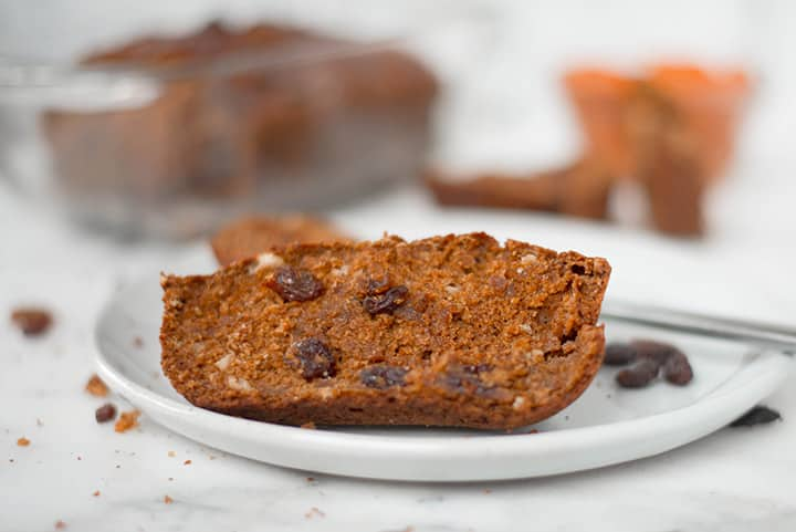 One Bowl Healthy Pumpkin Bread | This super yummy Healthy Pumpkin Bread is moist, healthy, and so easy to make.  Made with homemade pumpkin puree and other healthy ingredients, the Pumpkin Bread has perfect Fall flavors, and it is ready in less than an hour! | A Sweet Pea Chef | #pumpkinbread #pumpkin