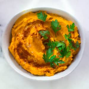 Sweet Potato Hummus (Hummus Without Chickpeas!) | Vegan, GF and Paleo!