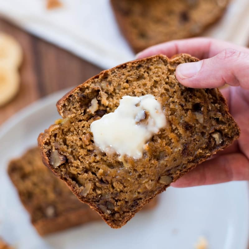 How to Make Healthy Banana Nut Bread (Without Added Sugar!) • A Sweet Pea  Chef
