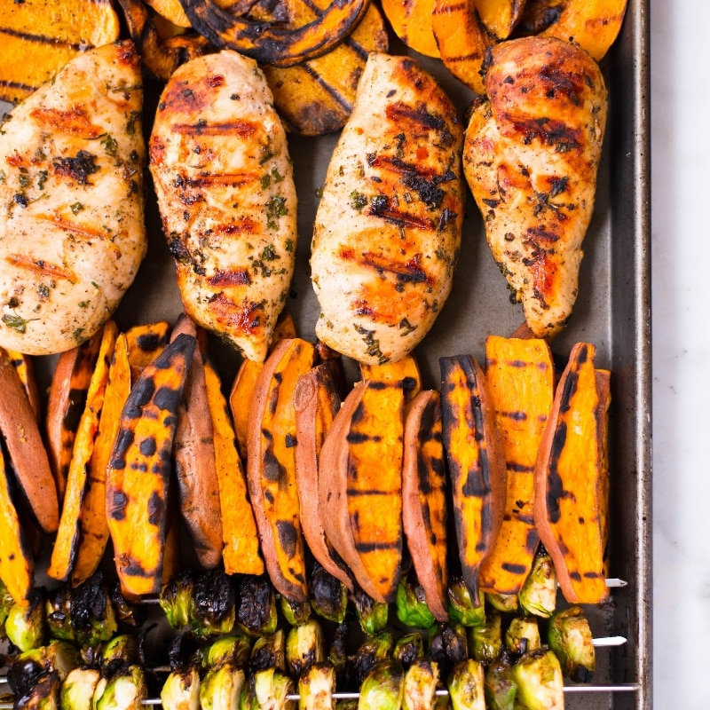 Fall Meal Prep on the Grill