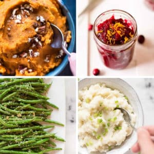 4 Easy + Healthy Thanksgiving Side Dishes