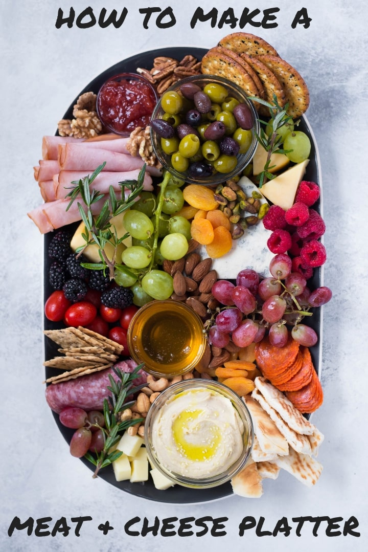 Port Wine, Meat and Cheese Platter | Meat and cheese platter ideas and how to make a meat and cheese tray | A Sweet pea Chef