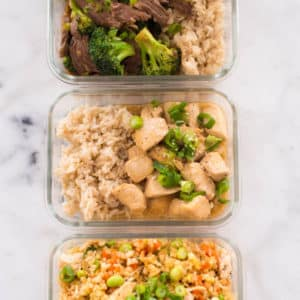 3 Healthier Takeout Options to Make at Home (Perfect for Meal Prep!)