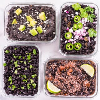 Healthy Instant Pot Black Beans Recipe How to make no soak Healthy Black Beans in the Instant Pot | A Sweet Pea Chef