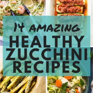 14 Amazing Healthy Zucchini Recipes