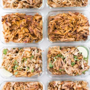 Easy Instant Pot Pulled Pork 4 Ways | Perfect for Meal Prep!