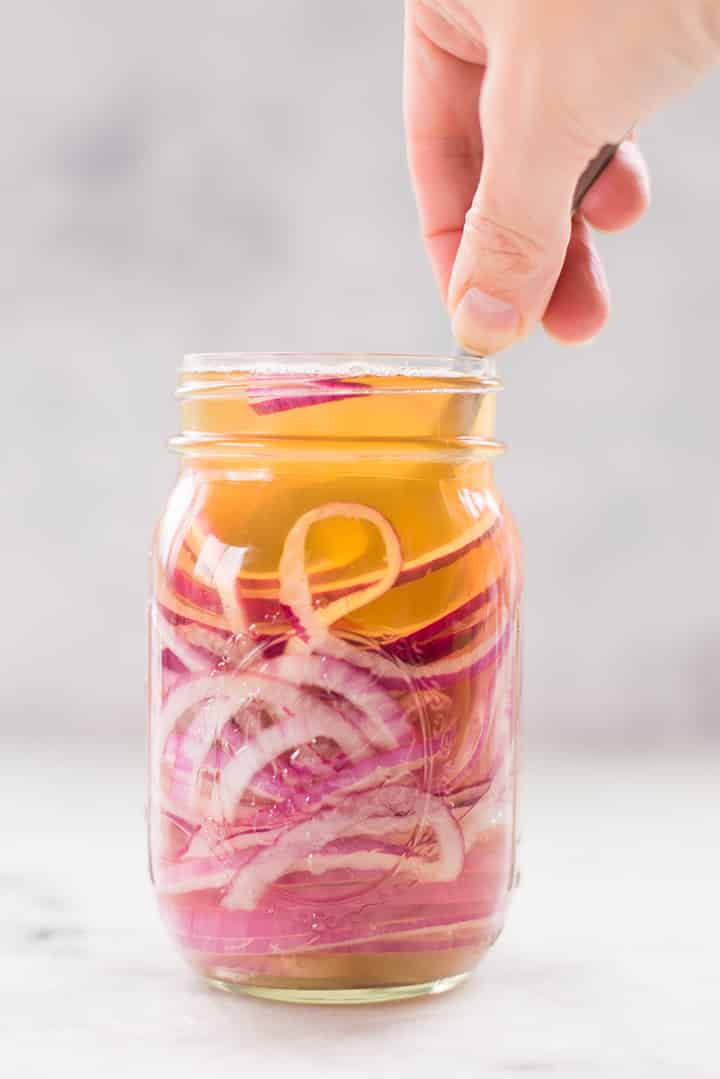 How to Make Pickled Red Onions at Home