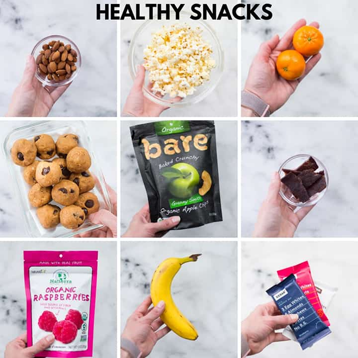 Healthy Snacks for Nutrition Hacks
