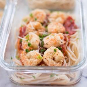 Breaded Shrimp Meal Prep