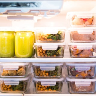 Healthy Emergency Food Prep + Easy Meal Ideas