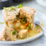 Looking for some healthy comfort food? These Mini Chicken Freezer Pot Pies are clean-eating, dairy-free, and can be prepped in bulk ahead for a delicious, filling, and comforting meal.