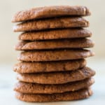 Clean-eating cookie lovers will adore these no-refined sugar, vegetarian, and dairy-free Healthy Ginger Molasses Cookies. Soft, delicious and oh so gingery, they are soon to be your favorite!