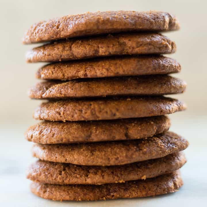 Soft Ginger Molasses Cookies A Sweet Pea Chef