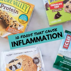 10 Foods That Cause Inflammation | A Guide On What Foods To Avoid